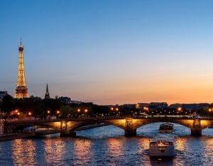 Diner croisière à Paris