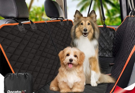 Housses de voiture pour chiens comparatif